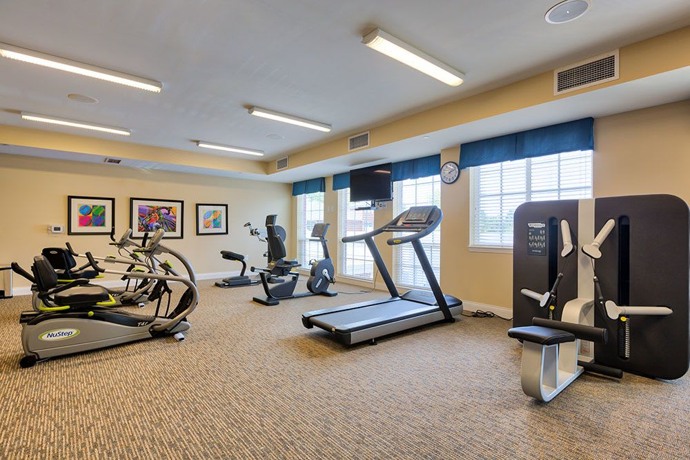 Stay fit and active at Three Creeks Senior Living