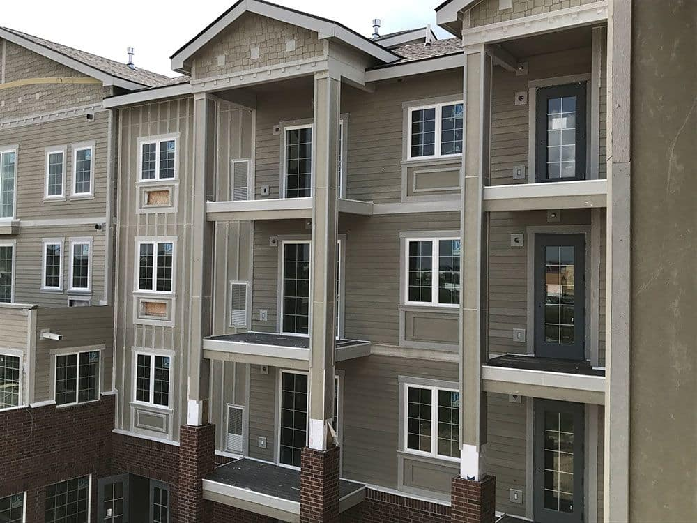 Enjoy apartments with a unique entryway at The Enclave Senior Living at Saxony