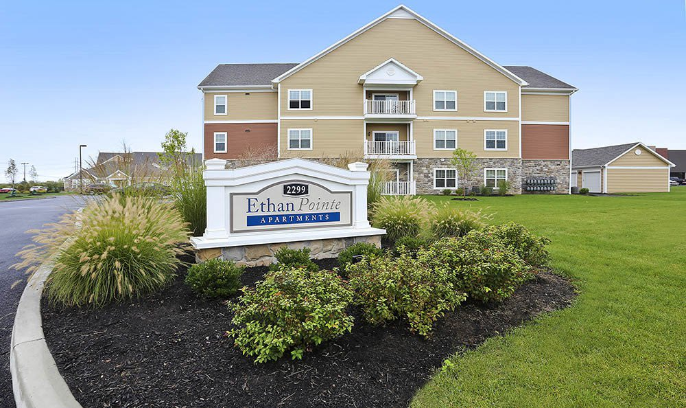 Welcome to Ethan Pointe Apartments in Rochester, New York