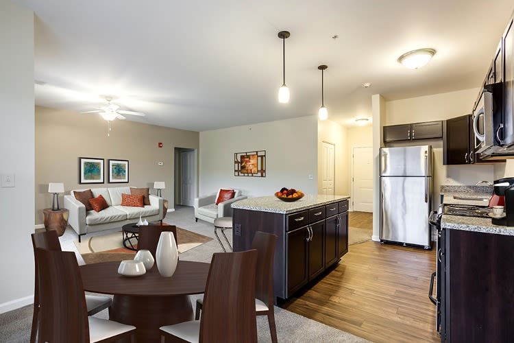 Spacious floor plans at Ethan Pointe Apartments in Rochester, New York