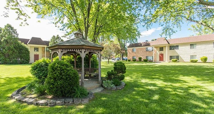Gazebo at Imperial North Apartments in Rochester, New York