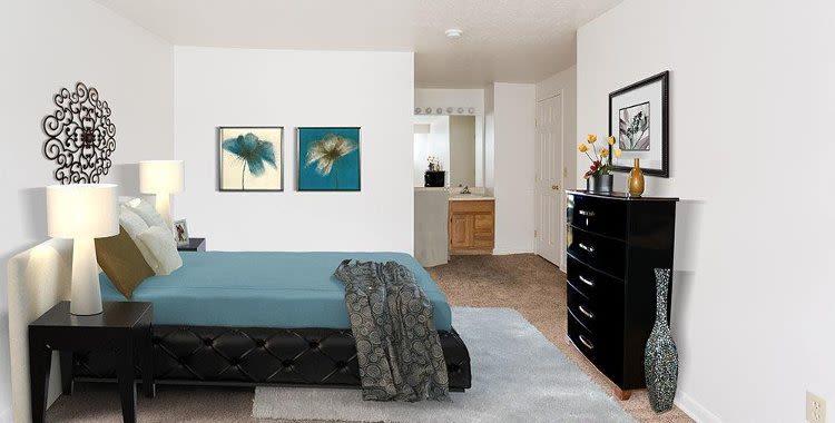 Bedroom at Riverton Knolls