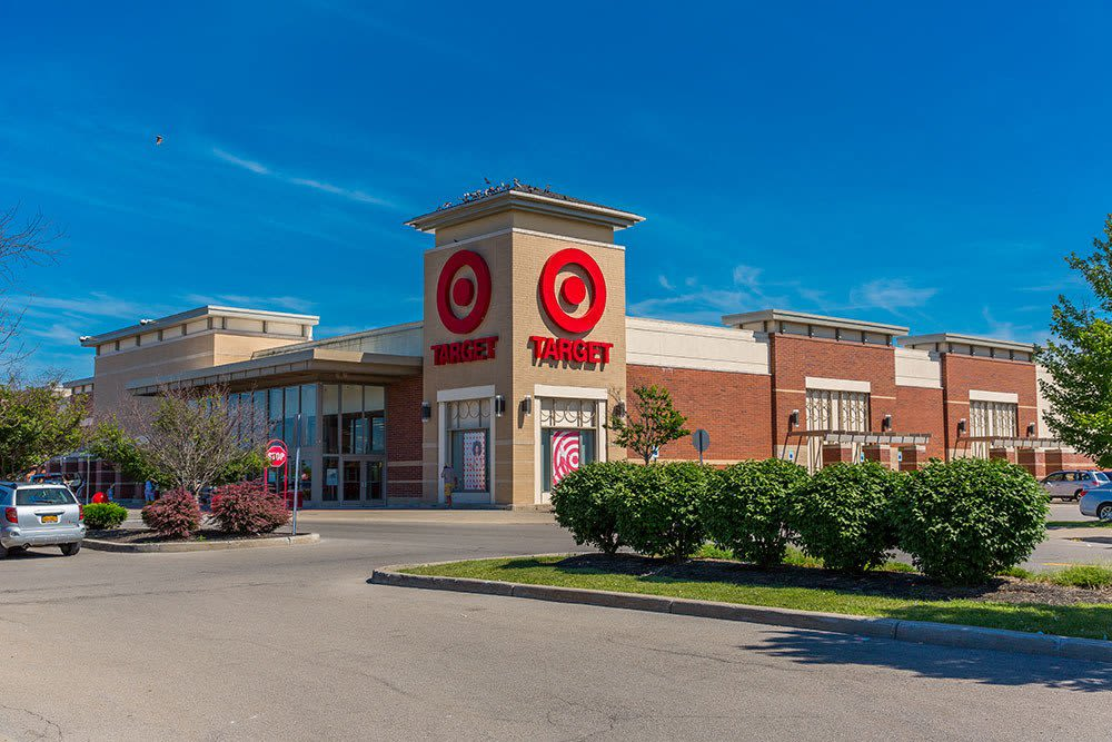 Target Bank Town Center near Waters Edge Apartments in Webster New York