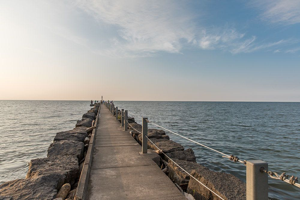 Webster Park and Lake Ontario in Webster, New York
