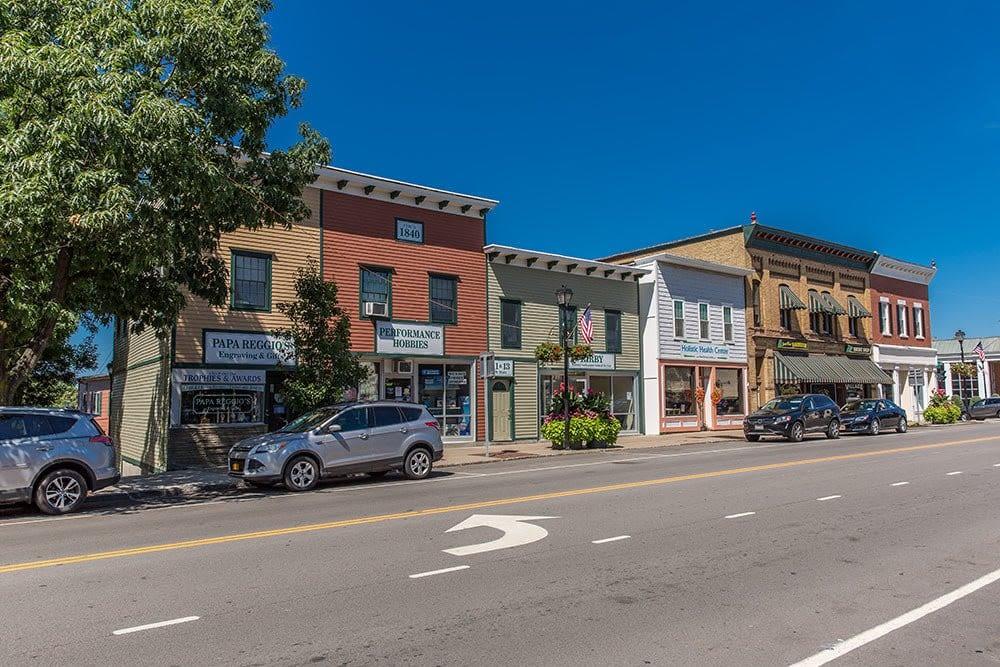 The Village of Webster in Webster, New York