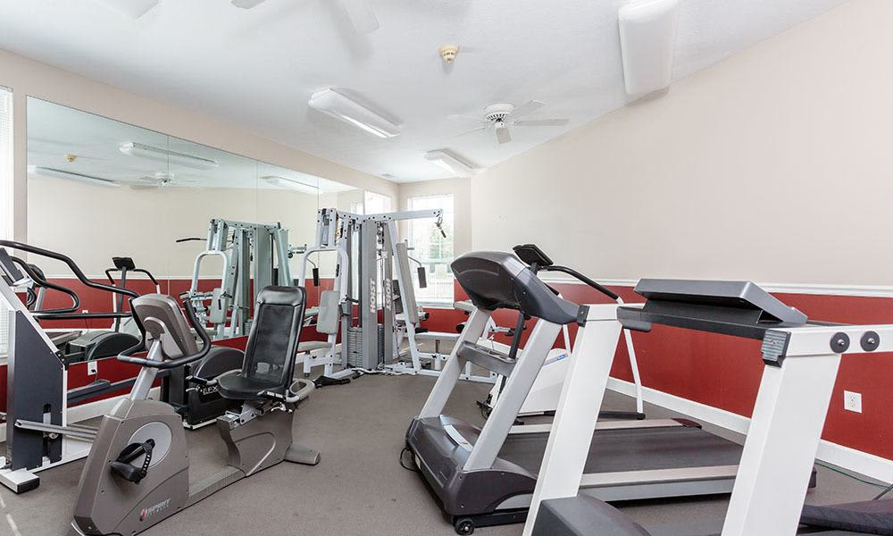 Stay healthy in our fitness center in Webster, New York