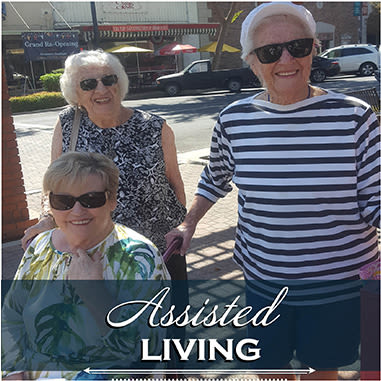 Assisted living resident at Kingston Bay Senior Living