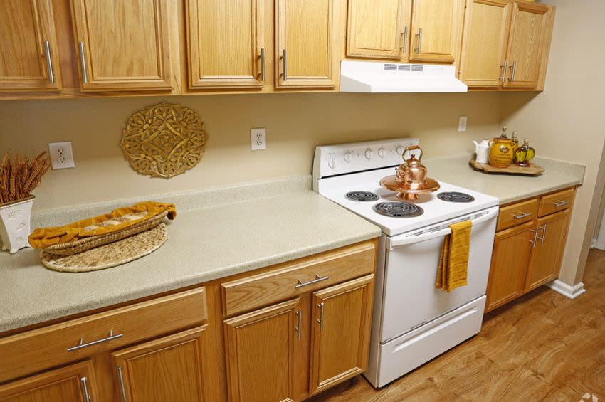 Beautiful kitchen at apartments in Rock Hill, SC