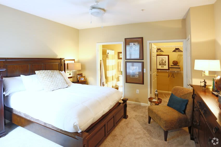 Brookstone in Rock Hill offers a beautiful bedroom in Rock Hill, SC