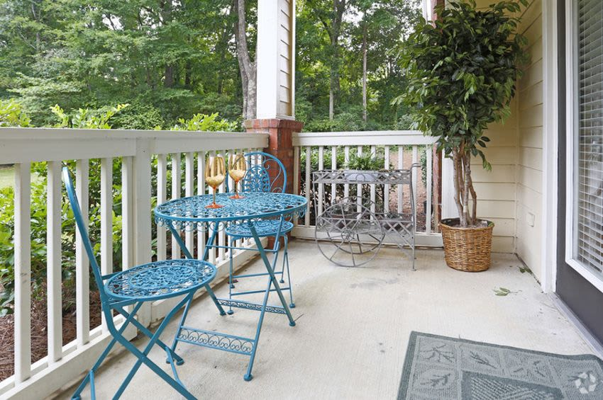 Beautiful apartments with a private balcony in Rock Hill, SC