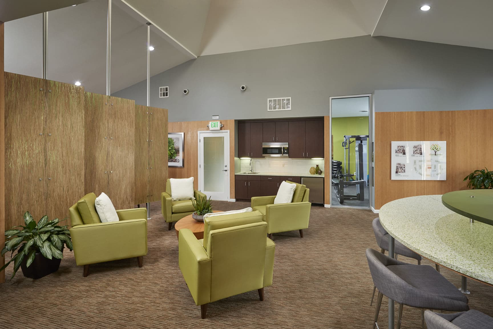 Clubhouse at Alton Green Apartments in Denver, CO