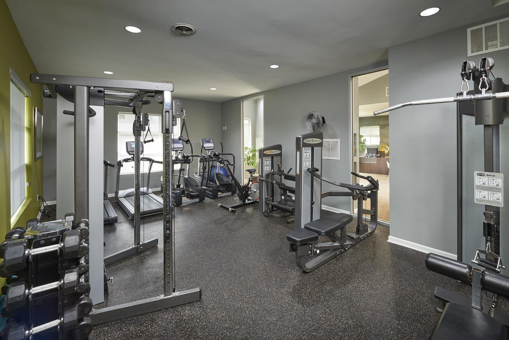 Fitness Center at Alton Green Apartments in Denver, CO
