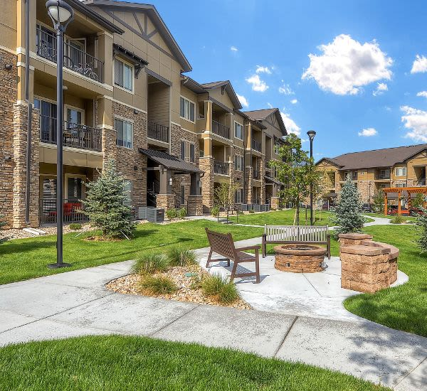 Enjoy the neighborhood at M2 Apartments in Denver