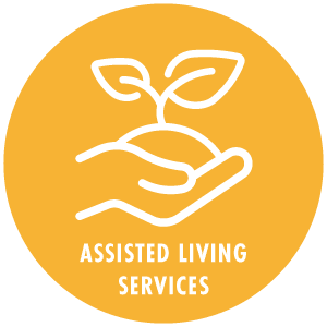 Assisted living custom graphic