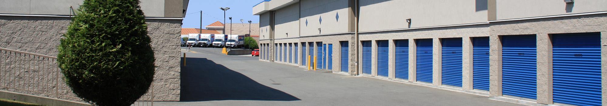 Self storage units in Nanaimo