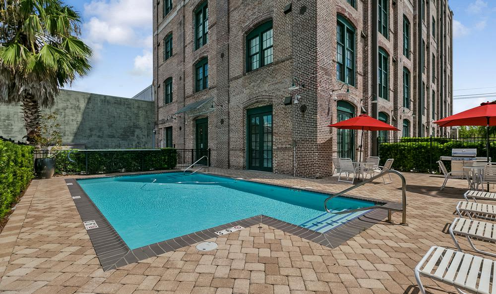 Pool  at Josephine Lofts in New Orleans, LA.