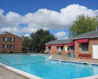 Pool at Perinton Manor Apartments in Fairport, New York