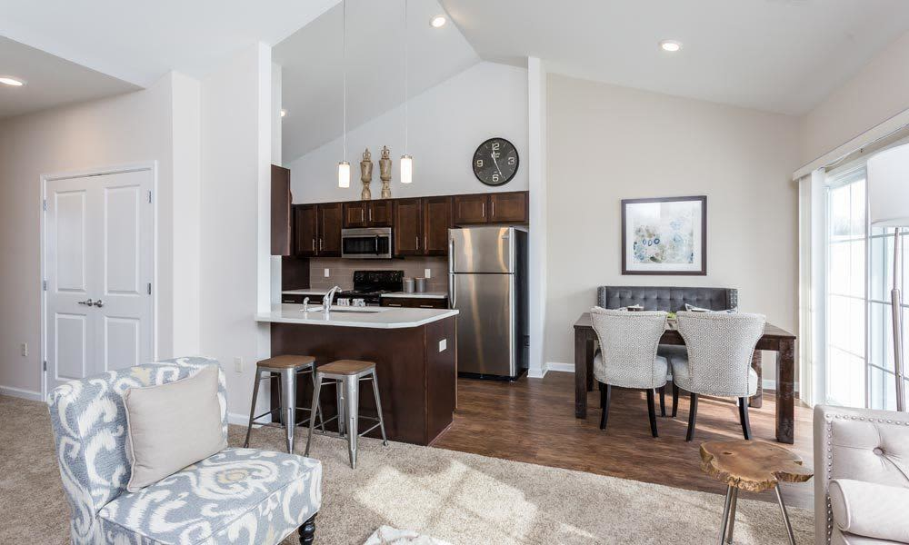 Ample living space at Union Square Apartments in North Chili, New York
