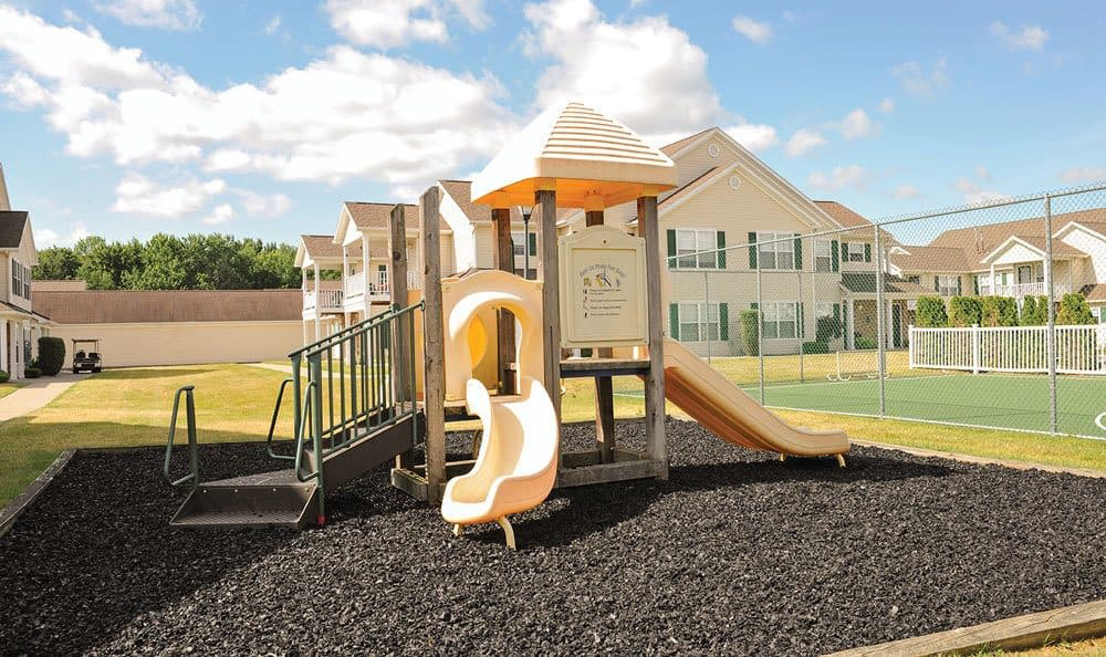 Playground at Westview Commons Apartments in Rochester