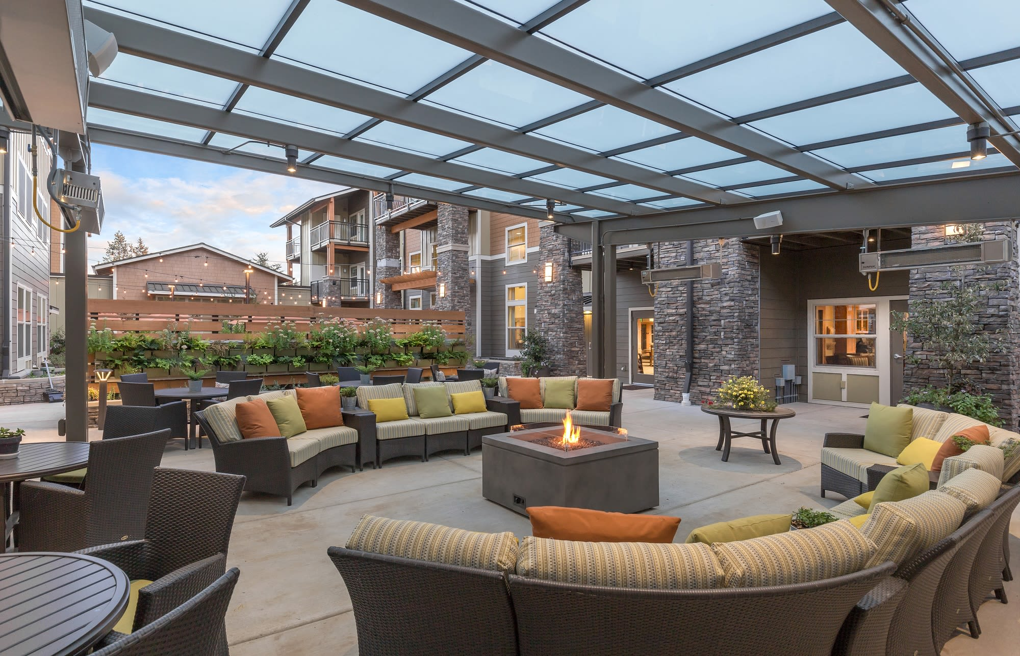 Enjoy the outdoors at The Springs at Greer Gardens