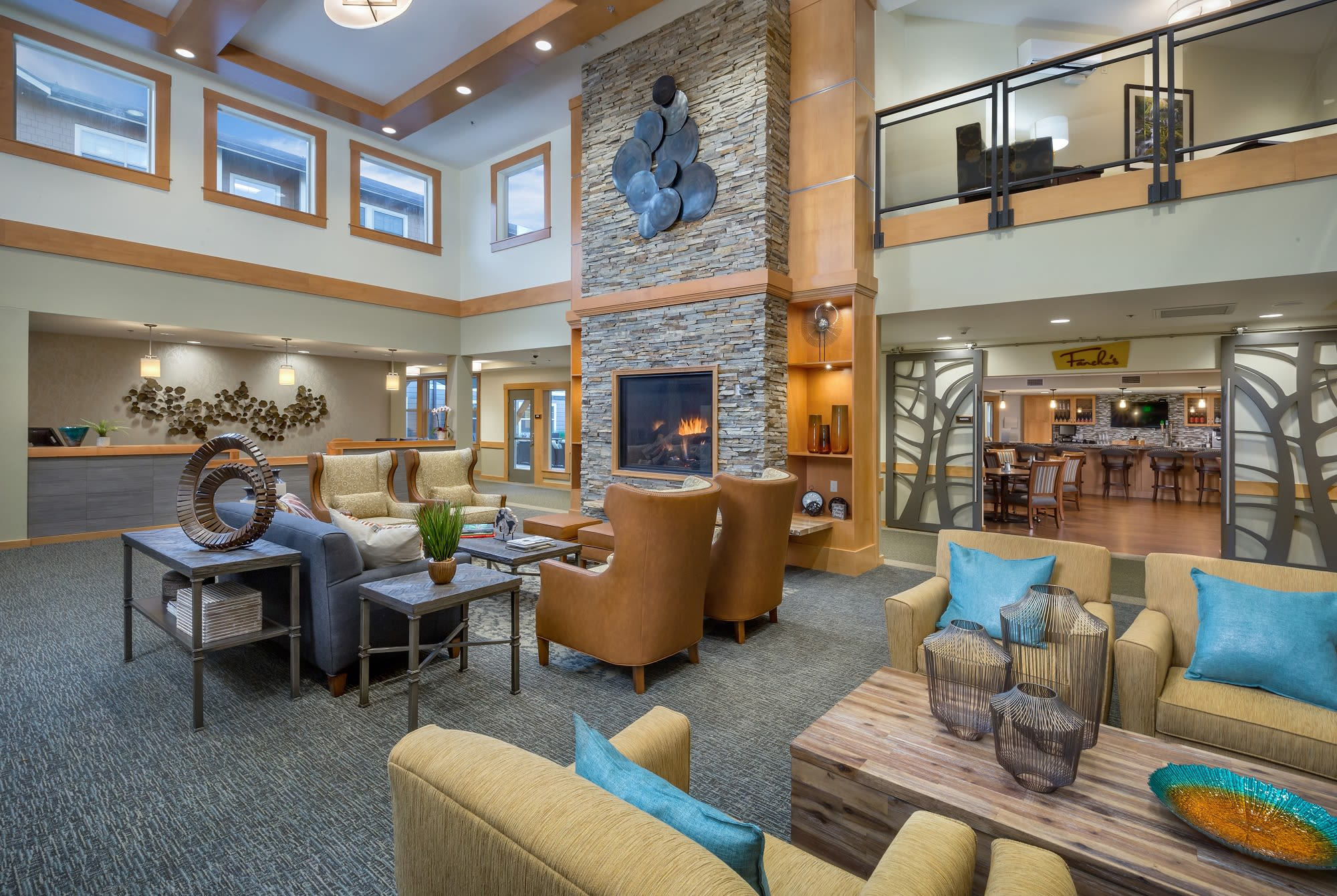 Image of the lobby at The Springs at Greer Gardens