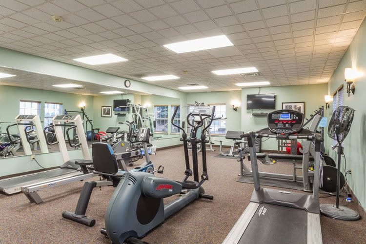 Stay healthy in our fitness center Westview Commons Apartments in Rochester