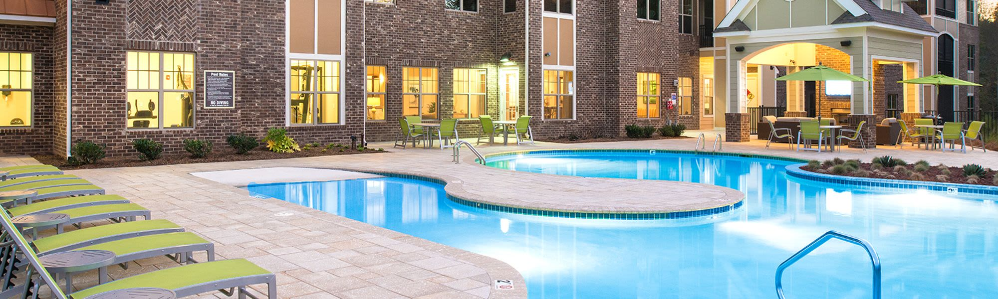 Luxury amenities at our apartments in Huntersville, NC