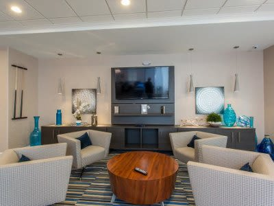Gateway Landing on the Canal clubhouse interior view in Rochester, New York
