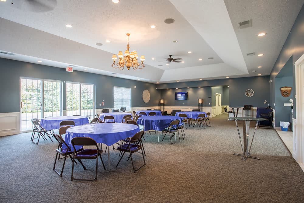 clubhouse at Avon Commons in Avon, NY