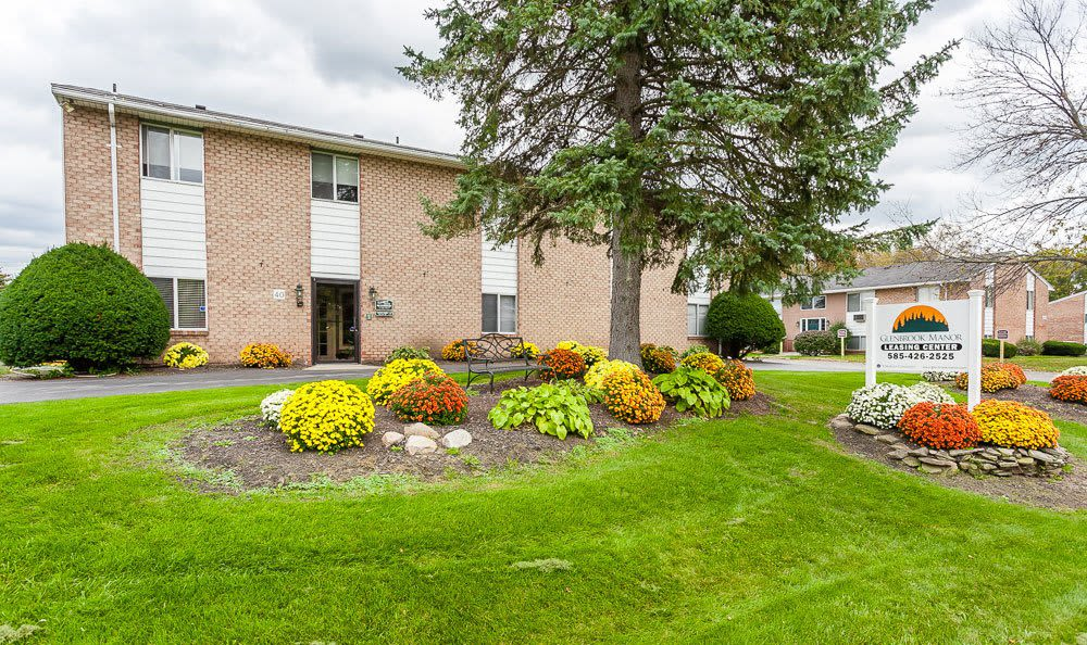 Welcome to your Glenbrook Manor Apartments home in Rochester, NY