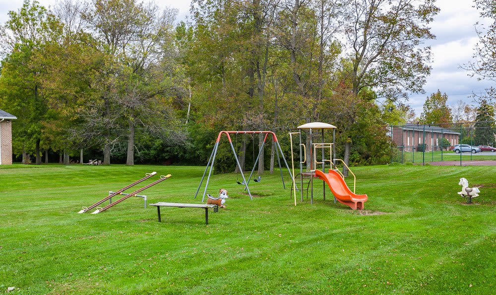 Glenbrook Manor Apartments offers a playground in Rochester, NY