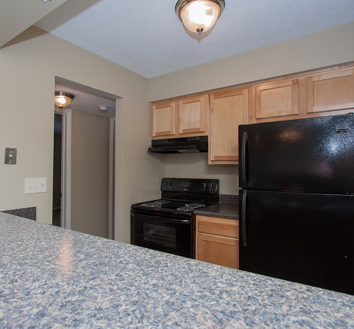 Bavarian Woods has modern kitchens with all the conveniences you need