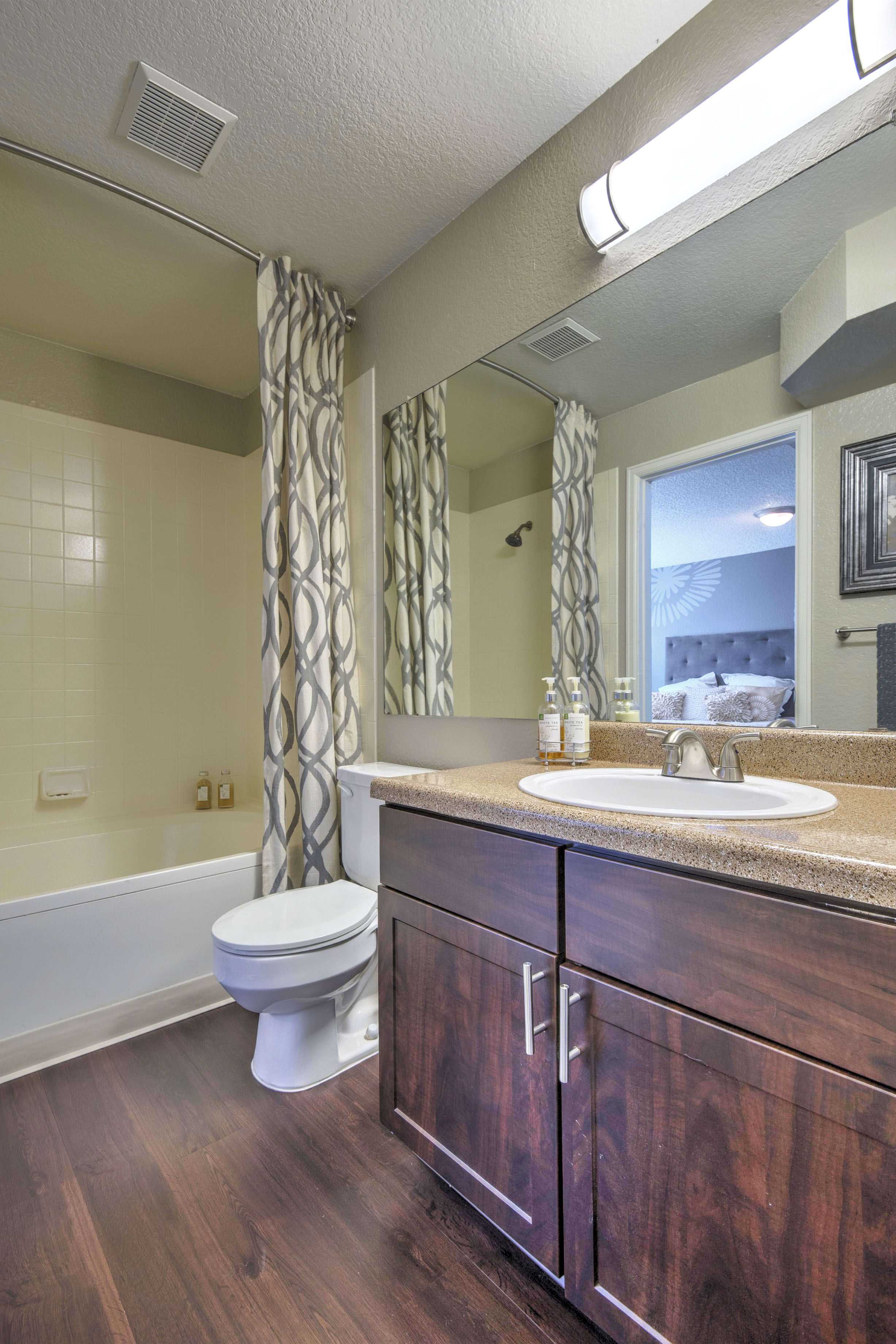Bathroom at Arapahoe Club Apartments