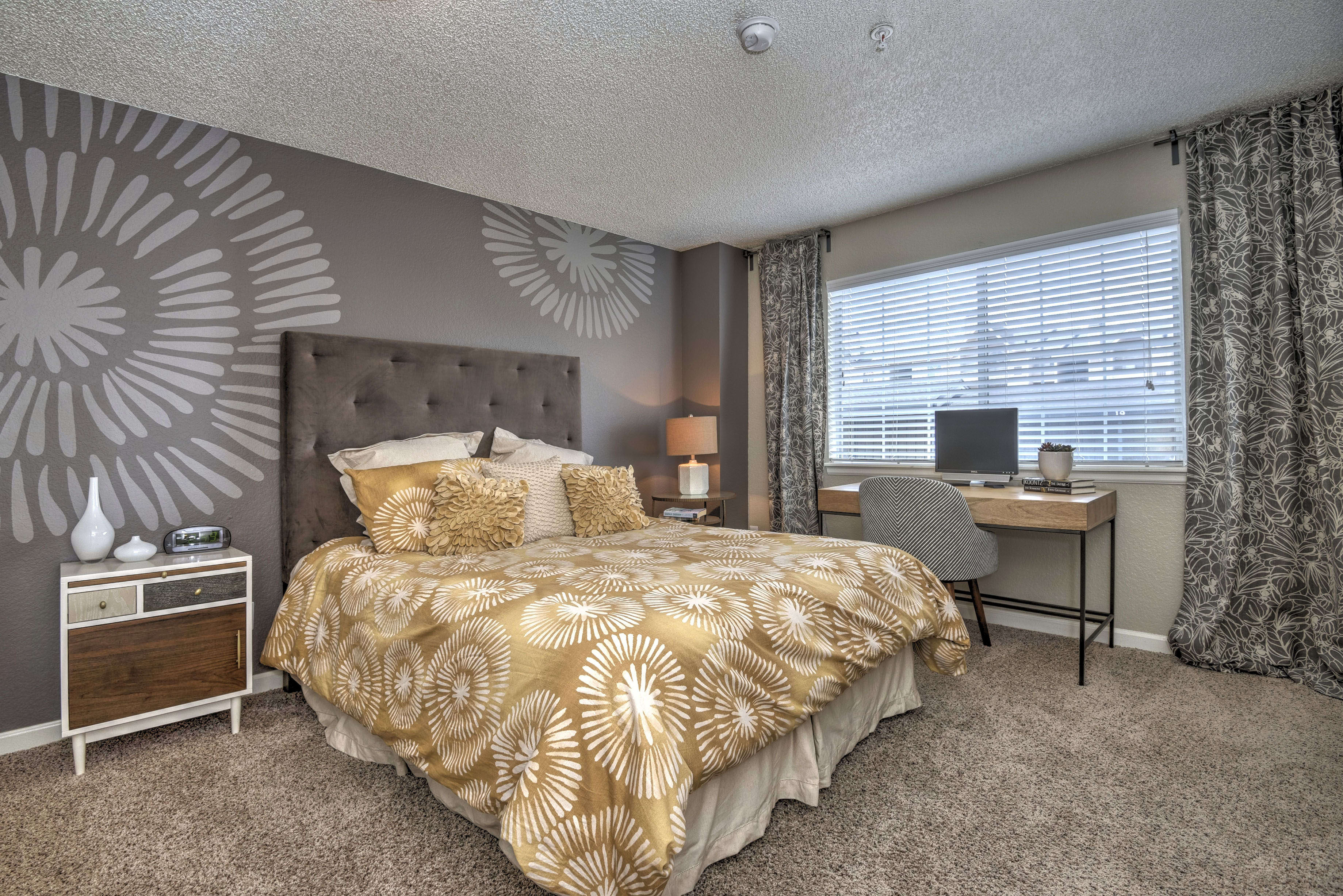 Master Bedroom at Arapahoe Club Apartments
