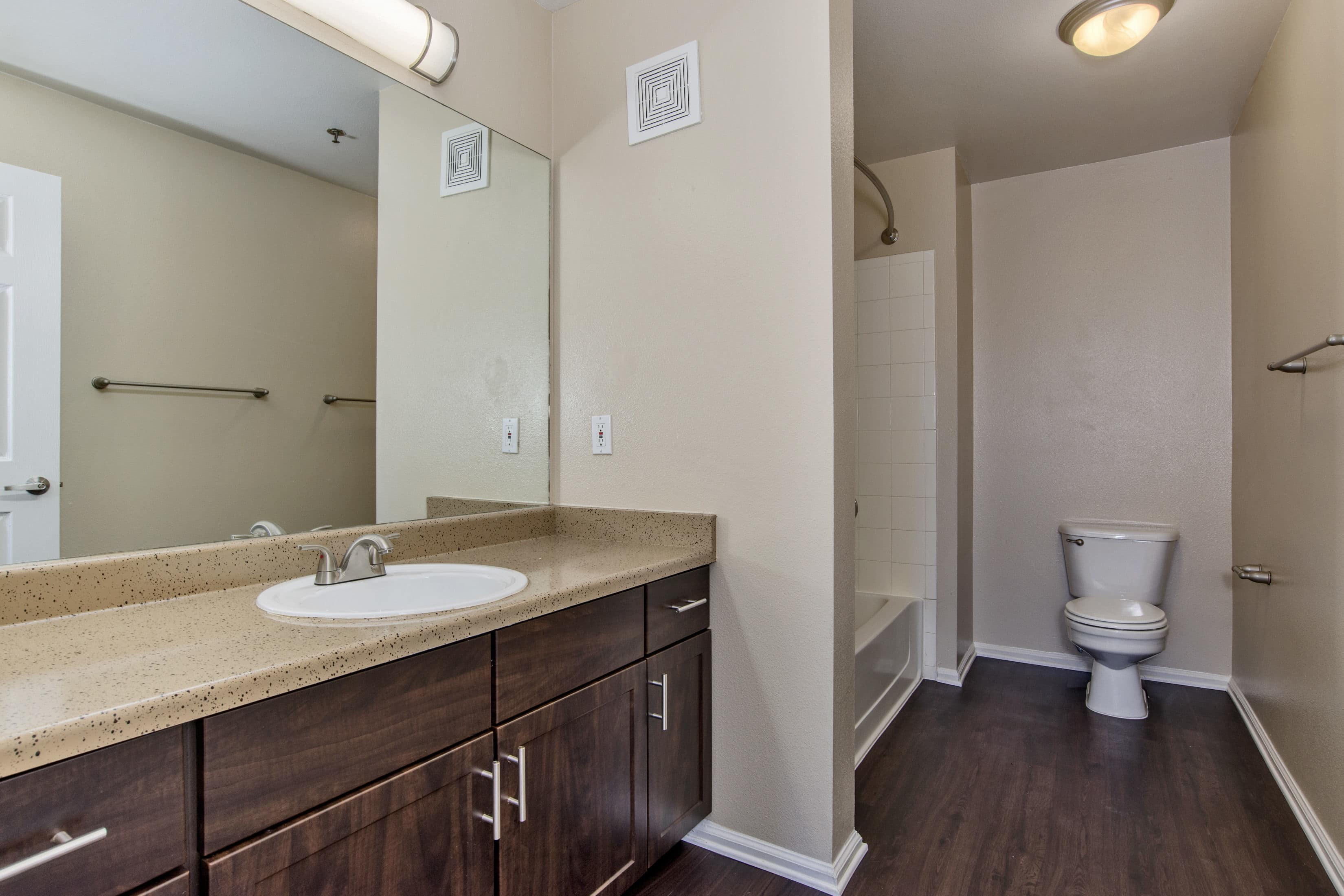 Bathroom at The Bluffs at Castle Rock Apartments