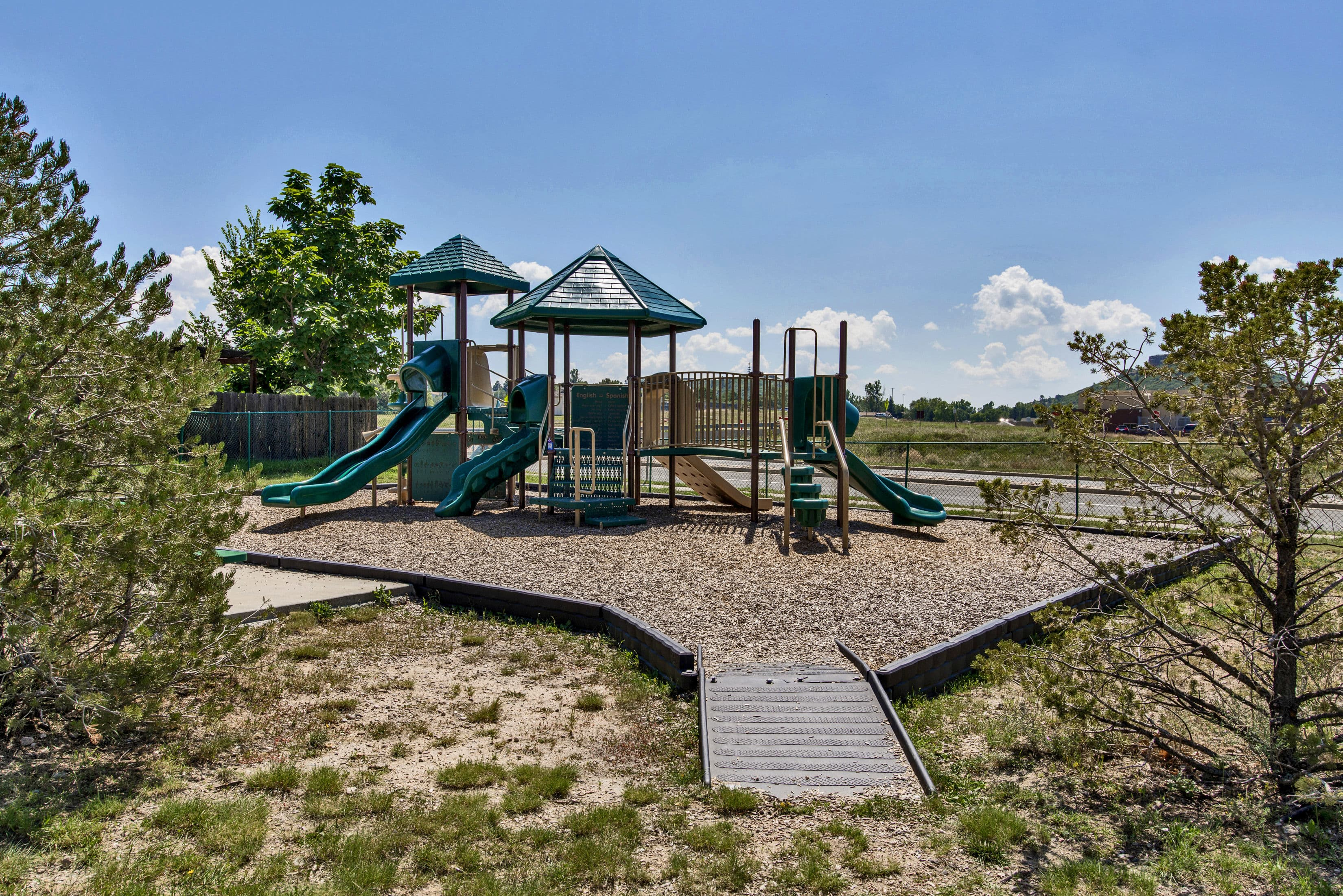 Playground at The Bluffs at Castle Rock Apartments