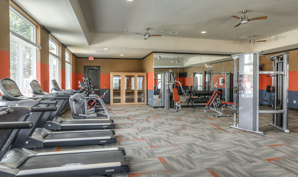 Fitness Center at Victory North Apartments