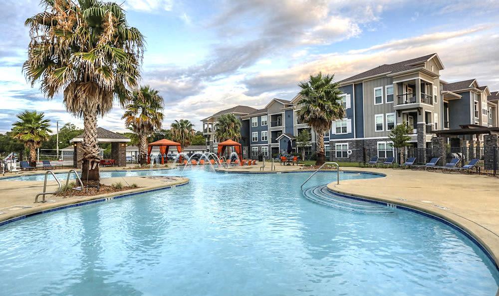 Pool at Victory North Apartments