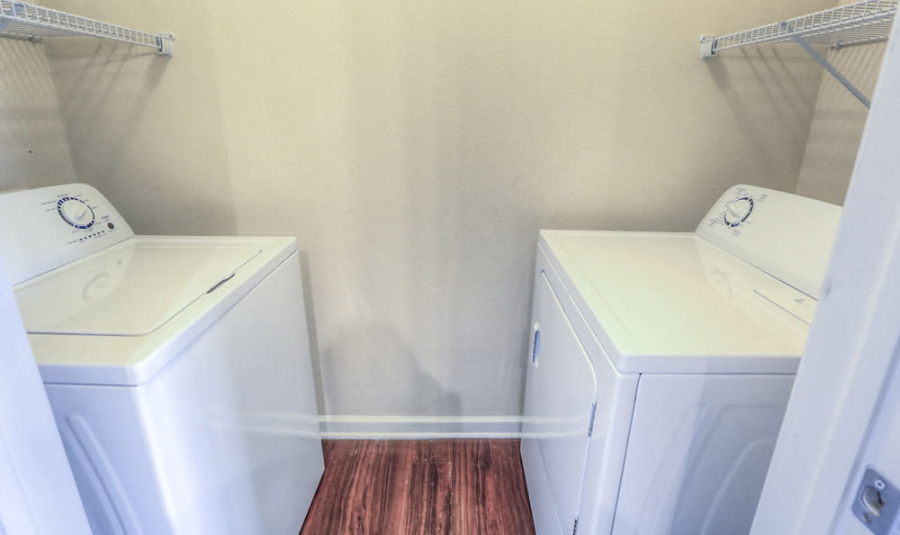 Washer & Dryer at Victory North Apartments