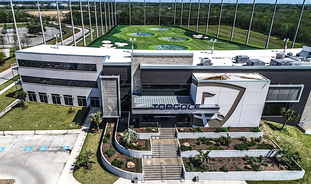 Top Golf in League City, Texas