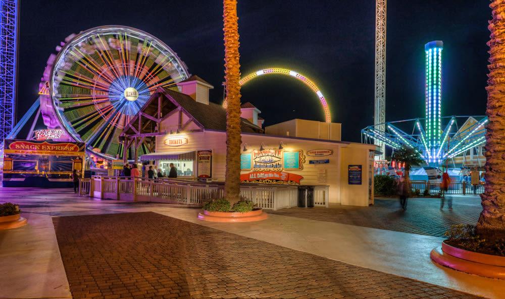 Kemah Boardwalk in League City