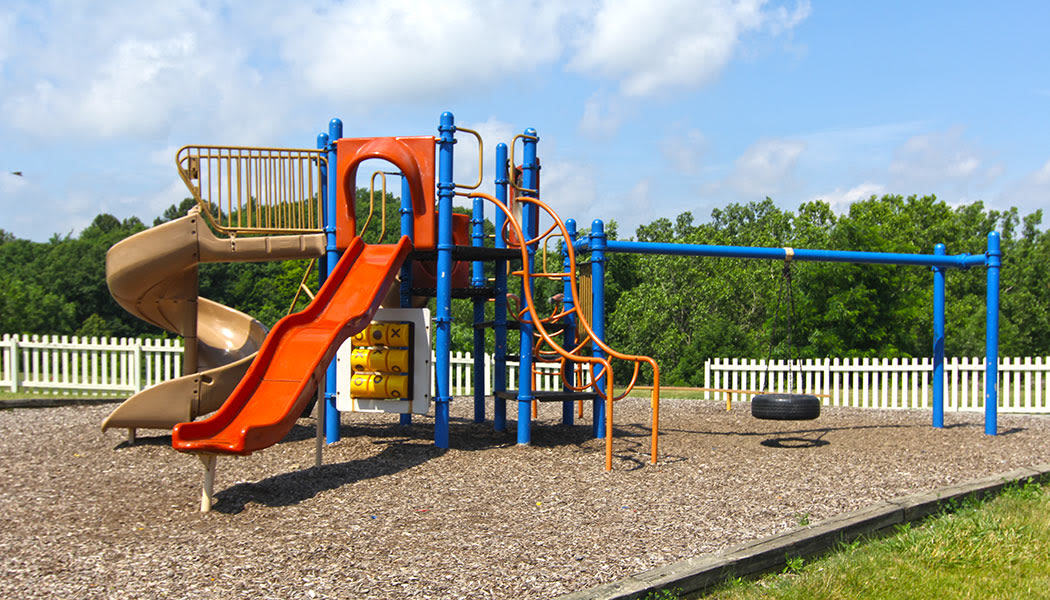 On-site playground at Columbus Park in Bedford Heights