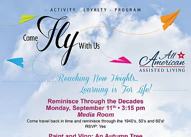 Join our exclusive loyalty program at All American Assisted Living at Warwick
