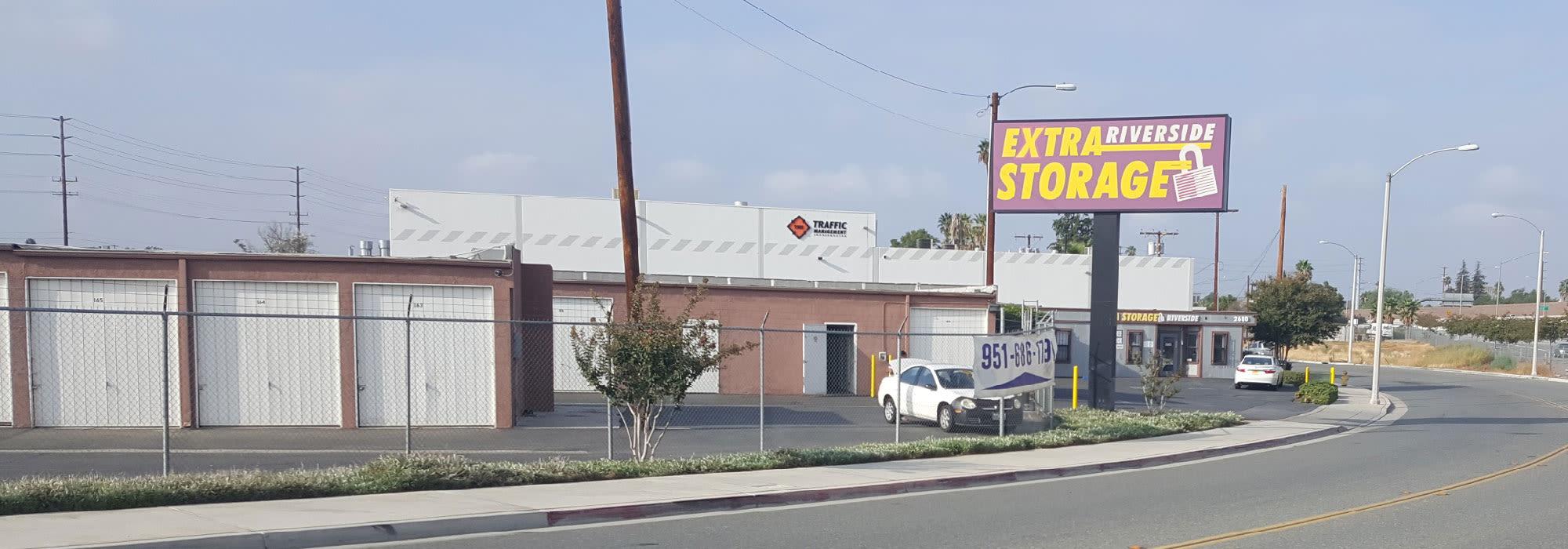 Self Storage Downtown Riverside California Extra