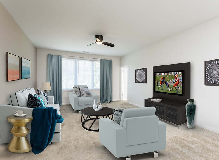 Spacious floor plans at Green Lake Apartments in Orchard Park, NY