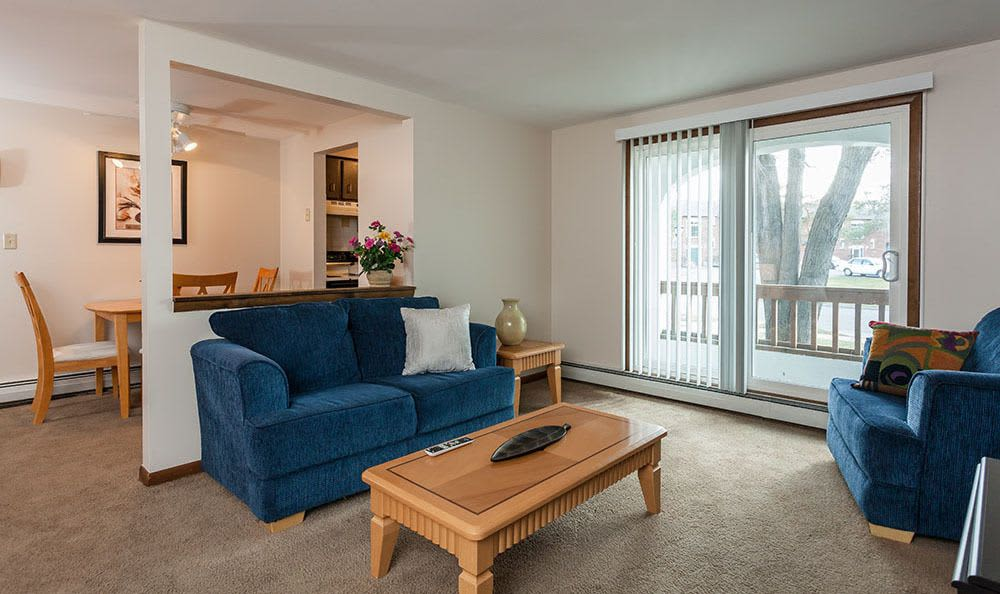 Enjoy a cozy living room at Paradise Lane Apartments apartments