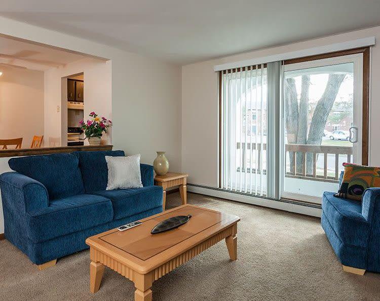 Spacious floor plans at Paradise Lane Apartments in Tonawanda, NY