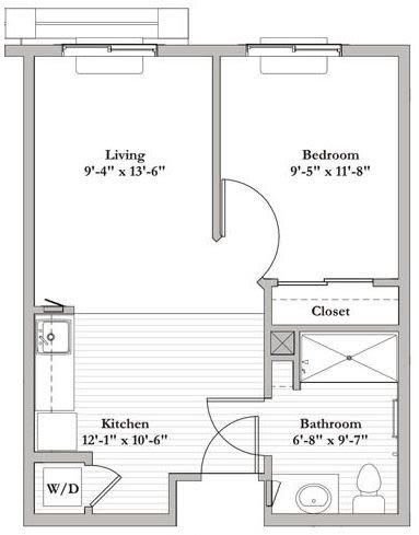 AL B2 - 1 Bed 1 Bath