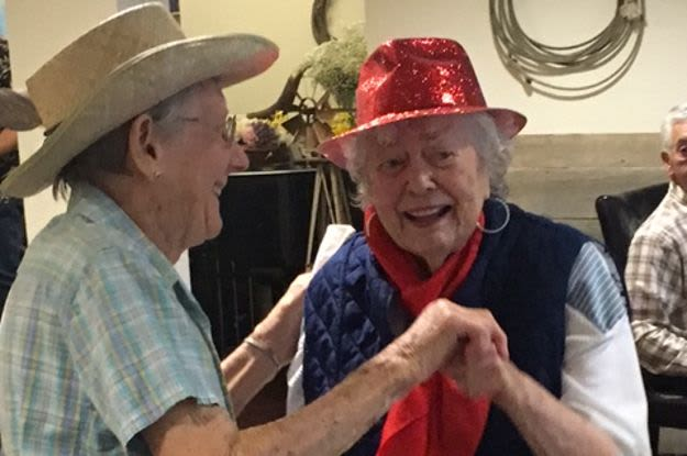 Dancing activities at The Vistas Assisted Living and Memory Care
