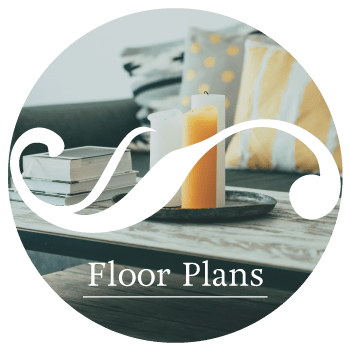 Floor plans at The Abbey on Lake Wyndemere in The Woodlands